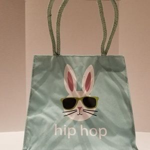 Other - Burlap Easter blue bag cool boy bunny